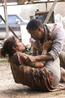 Denzel Washington and Paula Patton in Touchstone Pictures' Deja Vu