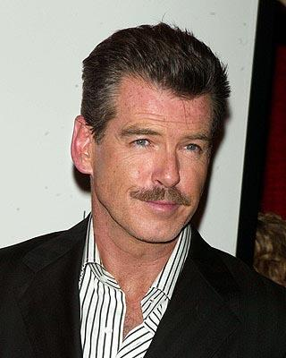 Pierce Brosnan at the New York premiere of New Line's Laws of Attraction
