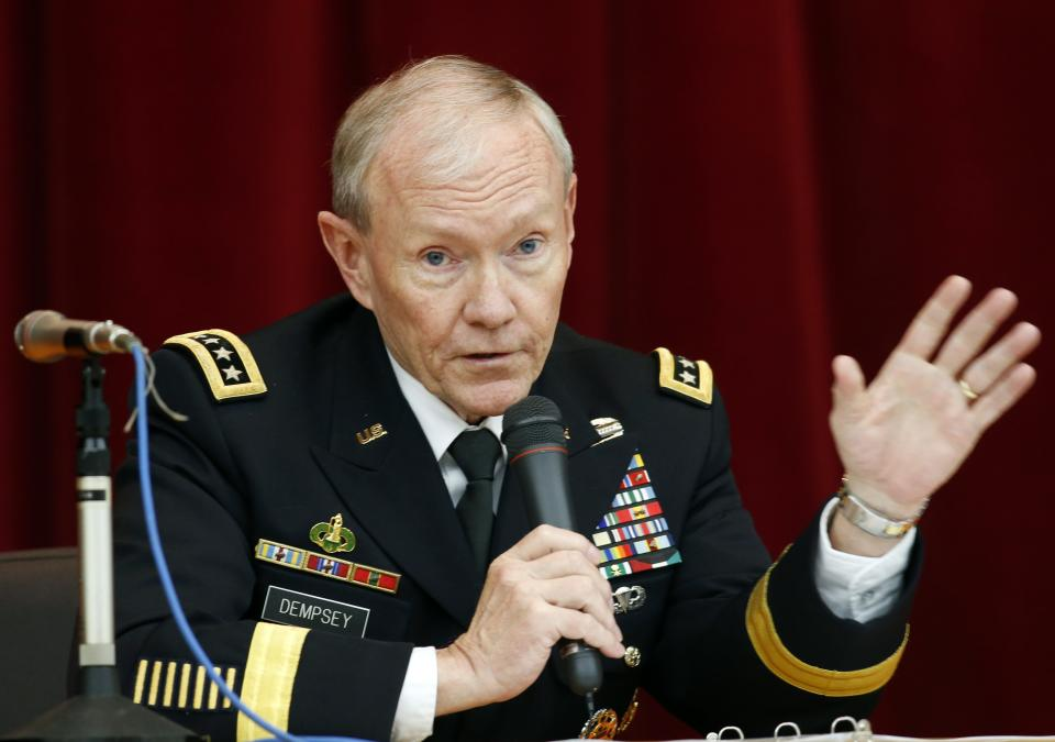 Joint Chiefs chairman cites 'crisis' over assaults