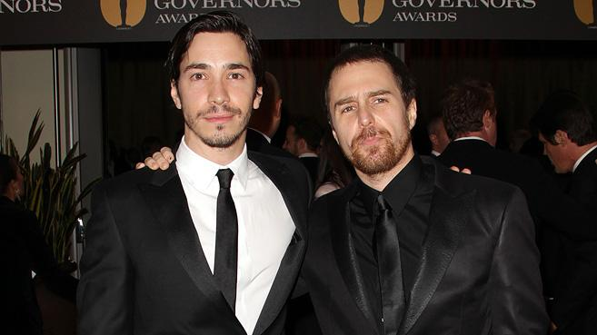 2nd Annual AMPAS Governors Awards 2010 Justin Long Sam Rockwell