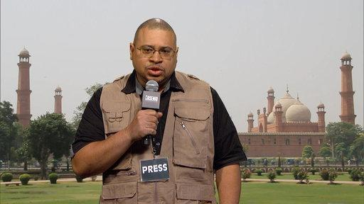 Hugh Moore Brings You 'The Big Story,' Live from Islamabad