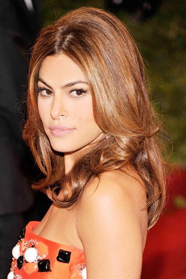 Eva Mendes's Beveled Cut