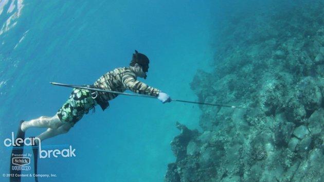 CLEAN BREAK 2012 - LUKE RODGERS SPEARFISHING