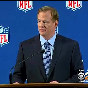 NFL Commissioner Discusses Role In Abuse Investigation