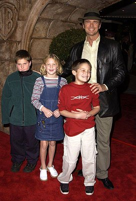 John Schneider and the Bo Duke posse at the Westwood premiere of Warner Brothers' Harry Potter and The Sorcerer's Stone