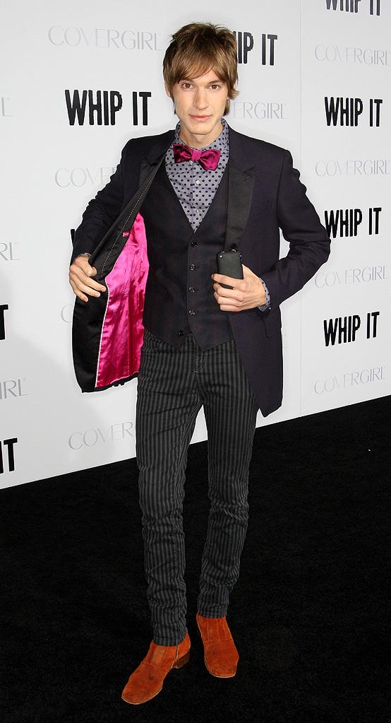Whip It LA Premiere 2009 Landon Pigg