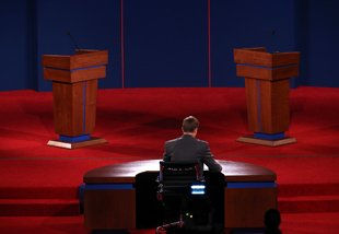 Hard feelings are a backdrop for the presidential debate
