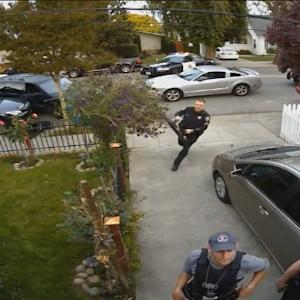 RAW VIDEO: Police Raid Home Of Muslim Law Enforcement Officer Accused Of Having Stolen Camera