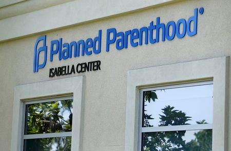A Planned Parenthood clinic is seen in Vista, California