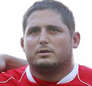 Former Wales prop Rhys Thomas (pictured in 2007) has retired from rugby with immediate effect after suffering a heart attack in January, it was confirmed