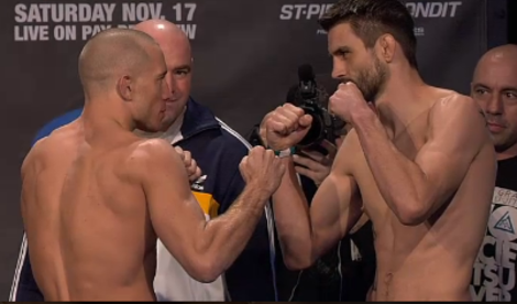 UFC 154 Weigh-In Results: Georges St-Pierre, Carlos Condit Hit the Scale