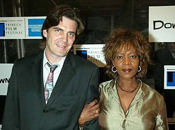 Alfre Woodard and husband Roderick Down With Love Premiere Tribeca Film Festival, 5/6/2003