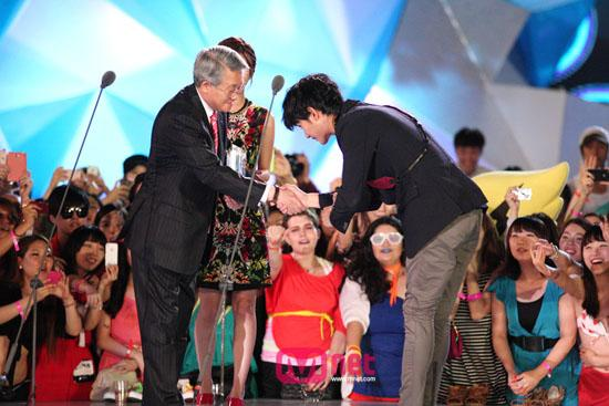 2012 Mnet 20's Choice Awards - Kim Soo Hyun