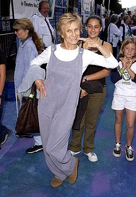 Cloris Leachman at the Hollywood premiere of Monsters, Inc.