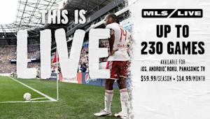 MLS LIVE 2013 now available: Watch up to 230 MLS matches on your computer, mobile or tablet