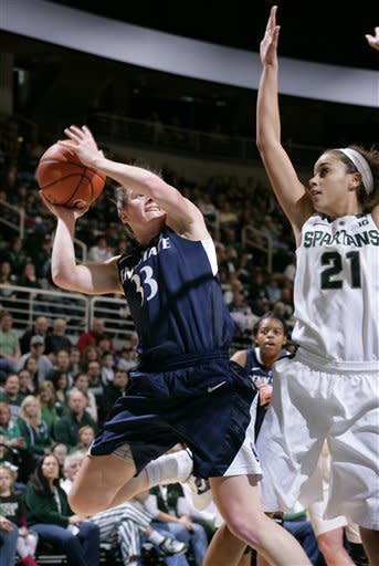 Penn St women use balance to beat Michigan State