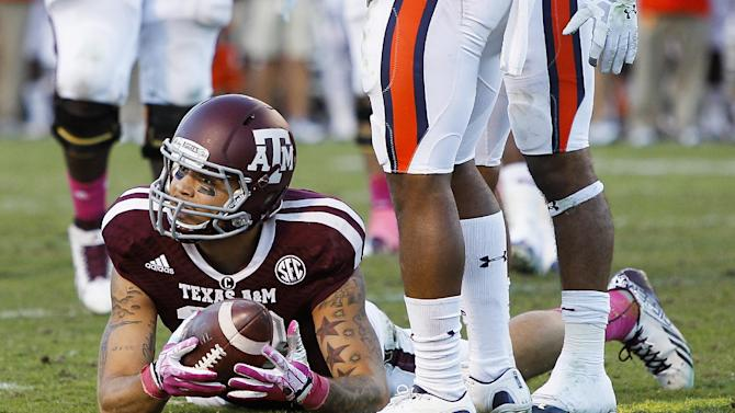No. 14 A&M looks to move on from upset to Auburn