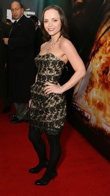 Christina Ricci at the New York premiere of Touchstone Pictures' Deja Vu
