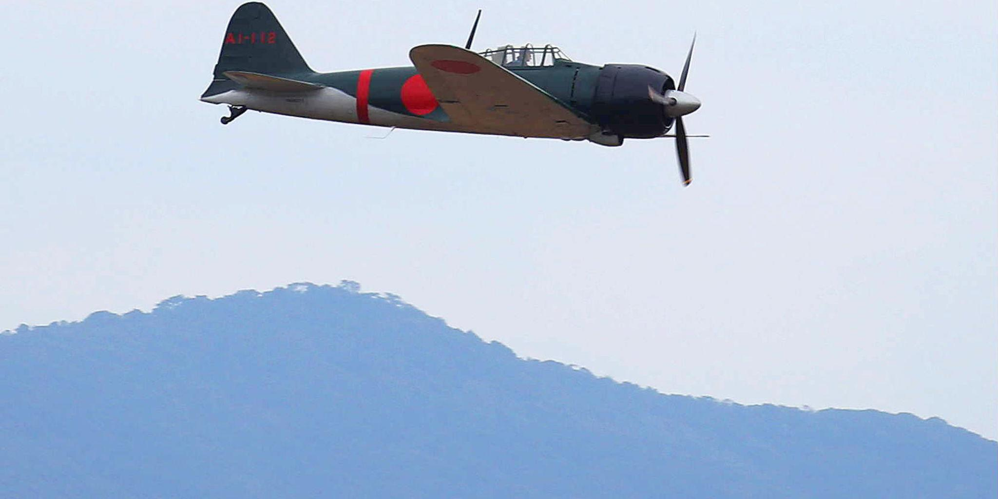 After 71 Years, a Zero Fighter Flies Again Over Japan