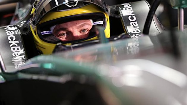 2013 Tests Jerez Mercedes Rosberg