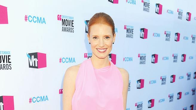 2011 Critics Choice Awards 2012 Jessica Chastain