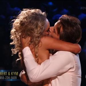 Surprising Kiss on 'Dancing with the Stars'