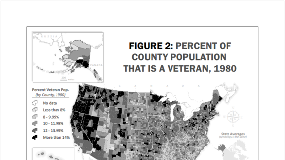US Veterans Increasingly Segregated from Civilians