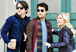 Zachary Knighton, Adam Pally and Elisha Cuthbert | Photo Credits: Richard Foreman/ABC