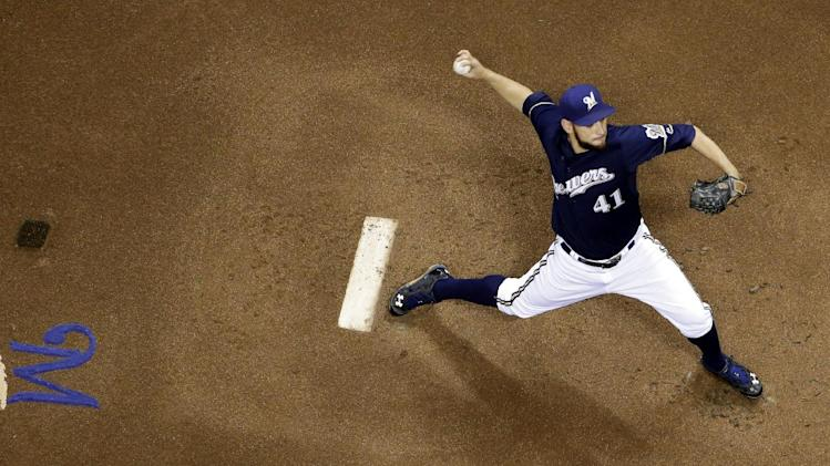 Battered Brewers beat Pirates, Cole 5-2
