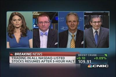 Reactions to Nasdaq's freeze