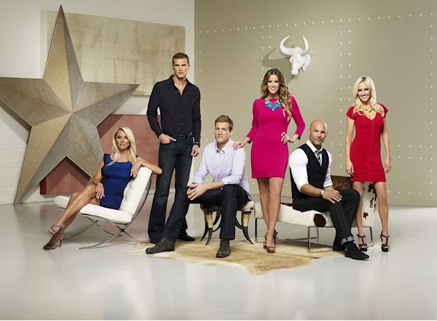 "The cast of ""Most Eligible Dallas."""