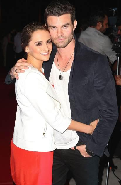 Rachael Lee Cook and Daniel Gillies arrive to the Closing Night Gala for the Baja International Film Festival at the Los Cabos Convention Center on November 17, 2012 in Cabo San Lucas, Mexico -- Getty Premium