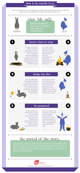 How to Be Nimble in PR [Infographic]  image nimble3