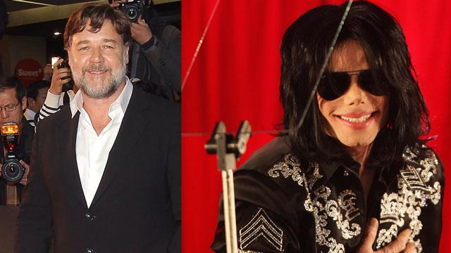 Russell Crowe Says Michael Jackson Pranked Called Him for Years