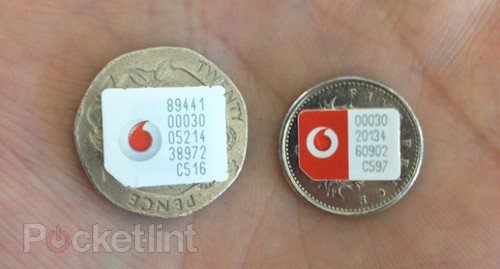 Vodafone nano SIMs stockpiled for iPhone 5 launch (picture). Phones, nano Sim, iPhone, iPhone 5, Apple, Vodafone 0