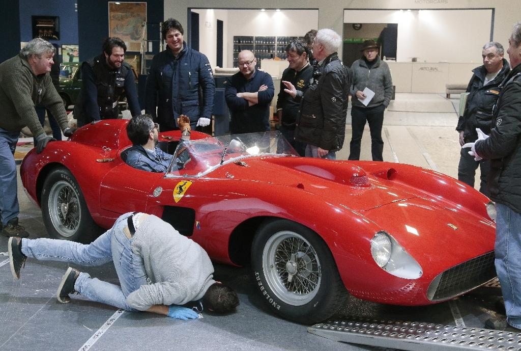 Record 32-million-euro auction sale for 1957 Ferrari