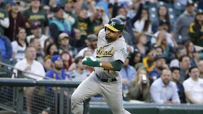 Athletics place Coco Crisp on DL with cervical strain