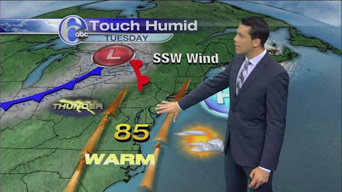 AccuWeather: Still Decent Today, Some Storms Tomorrow