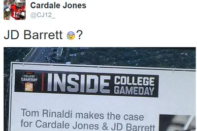 Cardale Jones takes note when you misspell a teammate's name and will shame you