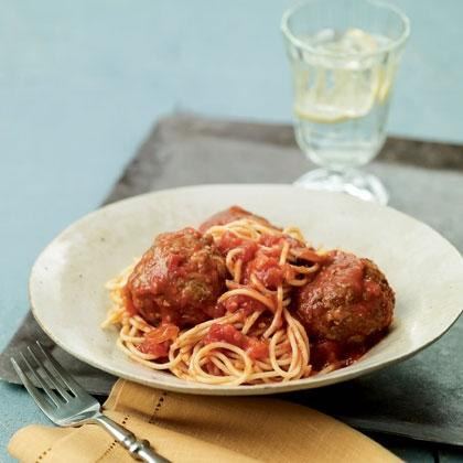 Cook: Hearty Spaghetti and Meatballs