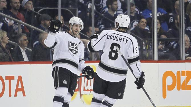 Richards has winner in Kings' 3-1 win over Jets