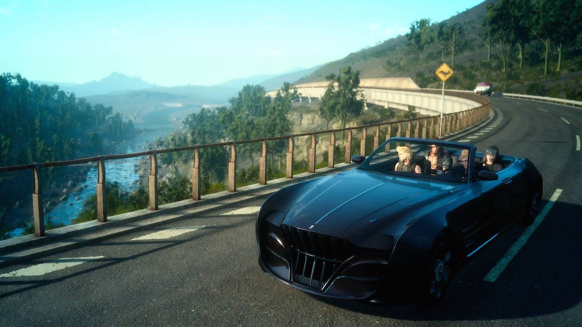 All I want to do is drive around in Final Fantasy XV's enormous open world