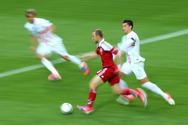 Denmark v Portugal - Group B: UEFA EURO 2012