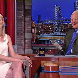 "David Letterman - Taylor Schilling on ""Orange Is The New Black"""