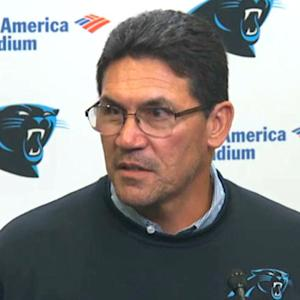 Carolina Panthers head coach Ron Rivera: 'We have to come up with solutions'