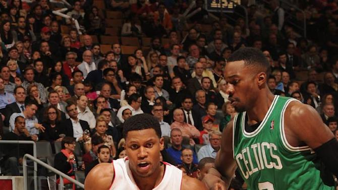 Gay leads Raptors past Celtics 93-87