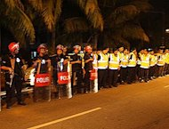 Police act the spoilers at PAS ceramah