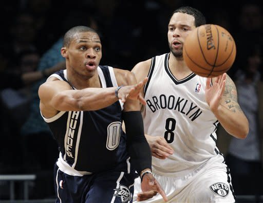 Thunder hold off Nets 117-111 for 6th straight win