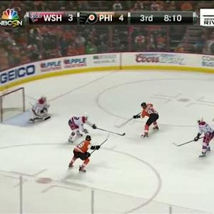 Hartnell feeds Voracek for goal on Mason