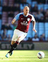 Alan Hutton is on loan at Nottingham Forest from Aston Villa